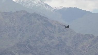 Indian Air Force Aircraft Carries Out Sorties in Ladakh, Air Activity Gone Up After India-China Violent Clash, Watch Video