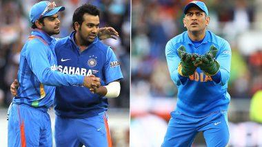 Virat Kohli Recalls How MS Dhoni Got Upset When He and Rohit Sharma Collided