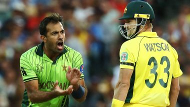 Wahab Riaz Birthday: ICC Relives Pakistan Speedster's Fiery Spell vs Australia in Quarter-Finals of 2015 World Cup (Watch Video)