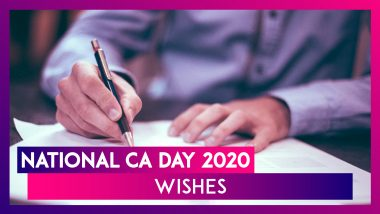 National CA Day 2020: WhatsApp Messages, Greetings, Quotes and Images to Wish Chartered Accountants