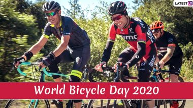 World Bicycle Day 2020: From Weight Loss to Reducing Air Pollution, Here Are Five Benefits of Cycling