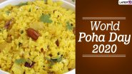 World Poha Day 2020: From Poha Pakoda to Poha Phirni, Here Are 5 Unique Recipes Prepared From Indian Flattened Rice (Watch Videos)