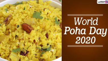 World Poha Day 2020: Here Are 5 Unique Recipes Prepared From Indian Flattened Rice