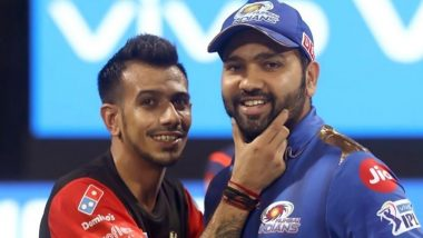 Rohit Sharma Extends Birthday Wishes to Yuzvendra Chahal, Calls the Leg-Spinner 'India's Greatest National Treasure' (View Post)