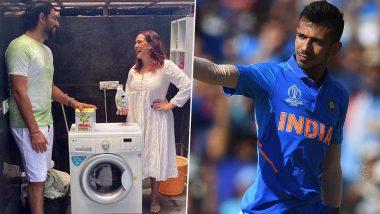 Yuzvendra Chahal Trolls Yuvraj Singh Over Promotional Post on Instagram, Check RCB Spinner's Funny Comment