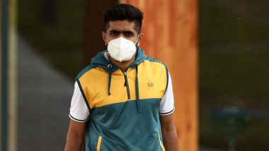 Babar Azam, Azhar Ali and Other Members of Pakistan Cricket Team Arrive in Manchester for Bilateral Series Against England (Watch Video)