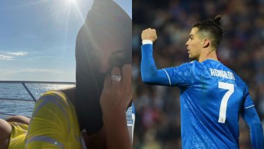 Cristiano Ronaldo, Georgina Rodriguez Engaged? CR7's Girlfriend Flashes Ring in Her Latest Instagram Post (View Photo)