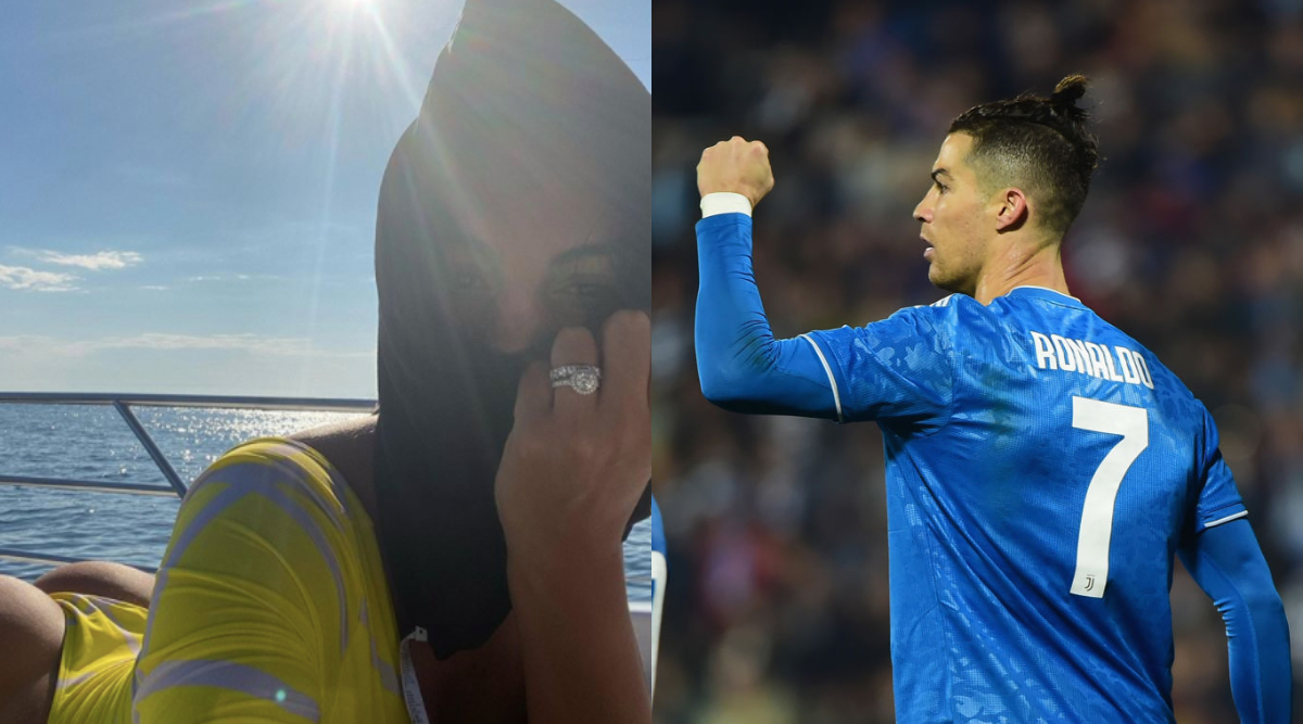 Cristiano Ronaldo Georgina Rodriguez Engaged Cr7 S Girlfriend Flashes Ring In Her Latest Instagram Post View Photo Latestly