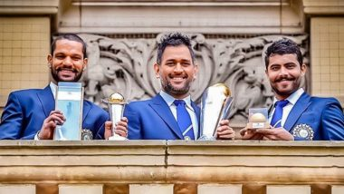 Fans Remember India's Title Win in ICC Champions Trophy 2013 Against England; Recall MS Dhoni, Ravindra Jadeja and Shikhar Dhawan's Contribution
