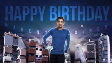 Ahead of MS Dhoni's Birthday, Fans Trend #DhoniBirthdayCDP on Twitter