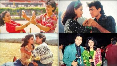 Madhuri Dixit Celebrates 30 Years Of Dil; Reveals Why Director Indra Kumar Scolded Aamir Khan And Her Everyday (Read Tweet)