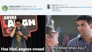 Exams Cancelled Funny Memes And Jokes Take Over Social Media as Maharashtra Government Cancels Final Year University Examination