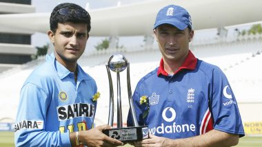 Sourav Ganguly, Nasser Hussain Engage in Twitter Banter As Former Indian Captain Remembers His Test Debut Against England at Lord's Cricket Ground