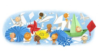 Children's Day 2020 (June 1) Google Doodle Displays Cute Paper Crafts to Acknowledge Kids' Creativity & Art, Honours International Day for the Protection of Children