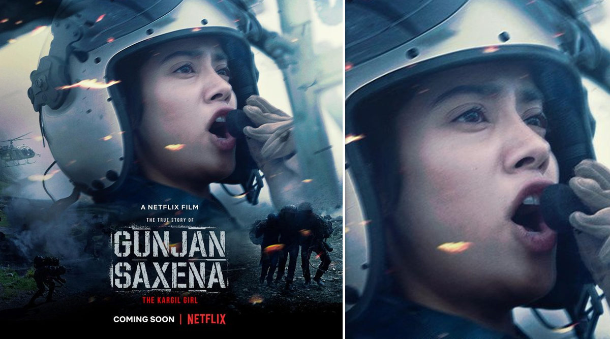 Janhvi Kapoor S Gunjan Saxena To Premiere On Netflix Instead Of Theatres Twitterati Just Can T Wait To Watch The Film Report Door