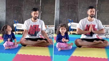 Kunal Kemmu And Inaaya Prepping For World Yoga Day Is The Cutest Video On Internet Today