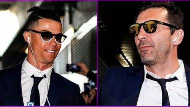 Cristiano Ronaldo, Gianluigi Buffon Feature in Juventus' Latest Instagram Post As Football Club Wishes Fans on the Occasion of National Sunglasses Day 2020