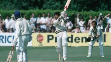 This Day That Year: When Kapil Dev Scored 175 Unbeaten Against Zimbabwe in 1983 Cricket World Cup Match