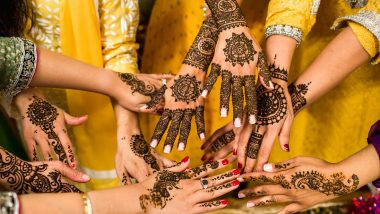 Quick 5-Minute Vat Purnima 2020 Mehndi Designs For Hands: Simple Henna Patterns to Apply at Home For The Hindu Festival! Watch Easy Mehandi Design Videos