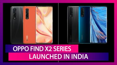 Oppo Find X2 Series Featuring a 48MP Triple Rear Camera Setup Launched in India; Check Prices, Variants, Features & Specifications