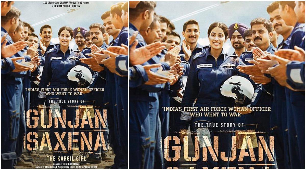Janhvi Kapoor S Gunjan Saxena The Kargil Girl To Hit Netflix On August 15 2020 Report Door