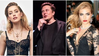 Elon Musk Never Had a Threesome With Amber Heard and Cara Delevingne, Issues a Statement to Respond to Johnny Depp's Allegations