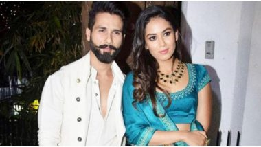 Shahid Kapoor and Mira Rajput are Observing Quarantine in Punjab While Helping with Daily Chores at the Radha Soami Satsang Dera (Watch Video)