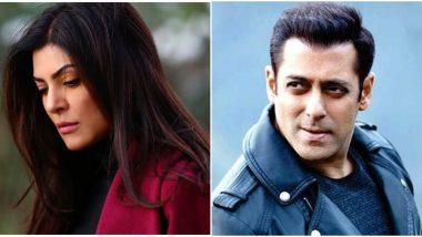Aarya: Salman Khan Celebrates Sushmita Sen's Comeback in a True Dabangg Style (Watch Video)