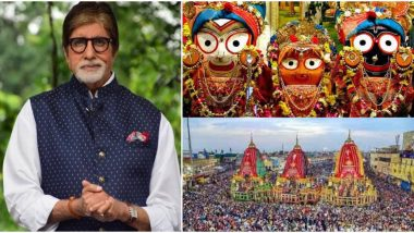 Jagannath Rath Yatra 2020: Amitabh Bachchan Shares How the Word 'Juggernaut' Derived As He Celebrates the Beginning of the Odisha's Chariot Festival in Puri (View Post)