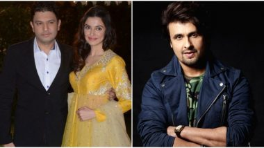Divya Khosla Kumar Lashes Out At Sonu Nigam For Making False Allegations Against Her Husband, Bhushan Kumar; Questions His Own Marriage and Fidelity (Watch Video)
