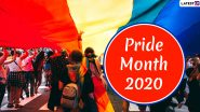 LGBTQ+ Pride Month 2020 Dates and Significance: Why Pride Month Is Celebrated in June? Here's the History Related to the Revolutionary Month of the Year
