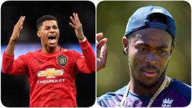 Marcus Rashford Calls Jofra Archer a 'Big Man' After English Cricketer's Scan Results Are Cleared