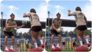 Gareth Bale & Luka Modric Practice Balancing & First Touch on Bosu Ball, Real Madrid Shares Video of Team Sweating it Out
