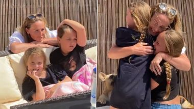 NHS Healthcare Worker Reunites With Daughters After Staying 9 Weeks Apart, Heart-Warming Video Leaves Netizens in Happy Tears