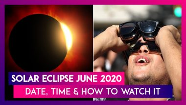 Solar Eclipse On June 21, 2020: Surya Grahan Time & Tips To Watch The 'Ring Of Fire'