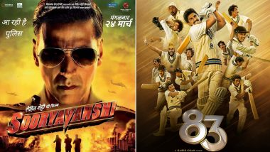 Sooryavanshi And '83 To Get A Theatrical Release; Box Office Collection Could See A Jump Of 20% More Than Pre-COVID Days?