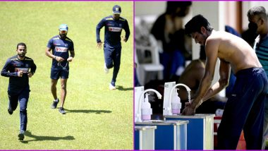 Sri Lankan Cricket Team Players Return to Training Amid Coronavirus Scare, Watch Video