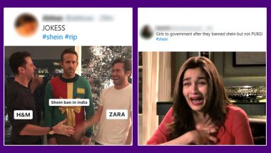 Shein Banned in India Funny Memes Flood Twitter, Fashion Lovers Can Seek Comfort in These Jokes As They Bid Farewell to the Chinese E-Commerce App