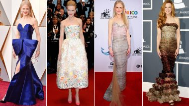 Nicole Kidman Birthday Special: A 'Bombshell' Whose List of Hobbies Includes Taking the Fashion World by Storm (View Pics)