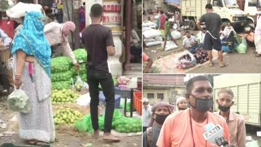 Petrol and Diesel Price Hike in Delhi Affects Prices of Items in Vegetable and Fruit Markets, Seller in Azadpur Mandi Says Market Has Become Costlier