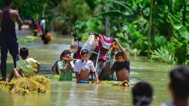 Assam Floods: Over 9.26 Lakh People Affected in 23 Districts of Northeastern State, Barpeta Worst-Hit District