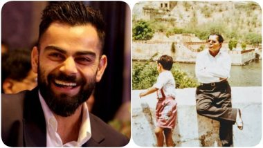 Virat Kohli Shares Heartfelt Post on Father's Day 2020, Says 'Be Grateful for the Love of Your Father' (See Post)