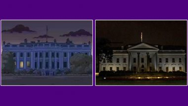 Did The Simpsons Predict White House Lights Out? Viral Pics From the Animated Series Shock Netizens of Another Possible Prediction Amid Protests Over George Floyd's Death