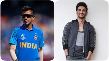 Yuzvendra Chahal Shares Heart-Touching Post for Sushant Singh Rajput, Shows Sketch of Late Actor Smiling Despite Being Stabbed by Nepotism, Bullying & Ban!