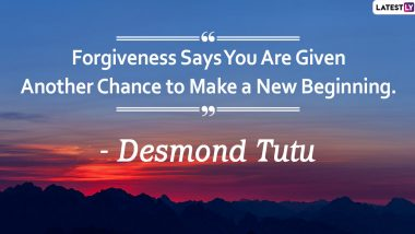 Global Forgiveness Day 2020 Quotes and HD Images: Meaningful Sayings on Forgiveness That Will Inspire You to Let It Go