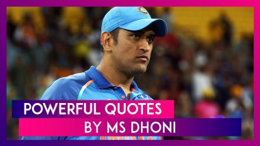 Happy Birthday MS Dhoni: Powerful Quotes By World Cup Winning Indian Captain