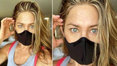 Jennifer Aniston To People Who Refuse To Wear Mask: It Shouldn't Be a Debate If You Care About Human Life (View Post)