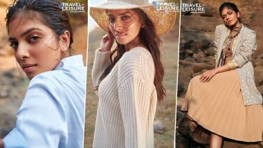 Malavika Mohanan Lets Her Eyes Do All the Talking in her New Photoshoot Travel + Leisure India (View Pics)