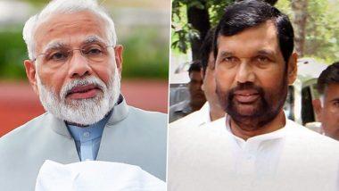Agency News Pm Narendra Modi Greets Ram Vilas Paswan On His Birthday Latestly