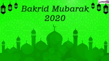 Bakrid Mubarak 2020 Greetings & Bakra Eid HD Images: WhatsApp Sticker Messages, Eid al-Adha Wishes, GIFs, SMS and Facebook Photos to Celebrate the Festival